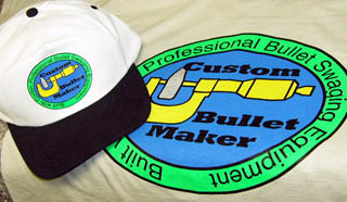 Custom Bullet Maker T-Shirt and Cap