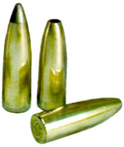 224 Bullets Made from Fired 22 Cases
