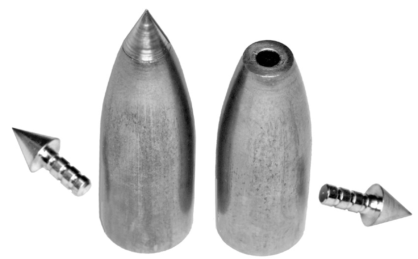 Lead pellets with Pin Point tips